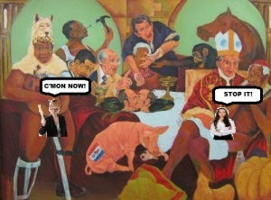 Viva South Africa, home of non-racist, non-sexist Zuma dong paintings. Viva!