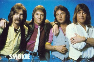 Smokie. I'm always a little jealous when I come across people who have an instinctive understanding of cool.