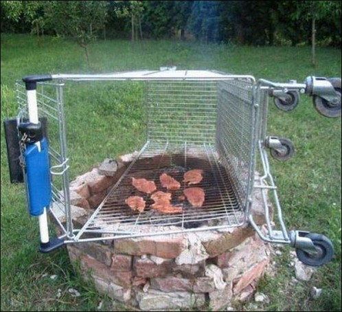 build in braai stand pictures