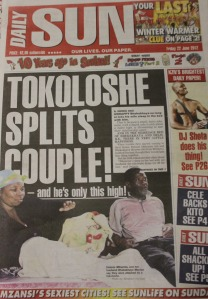 Tokoloshe story by Sboniso Shozi and Abraham Kortjaas