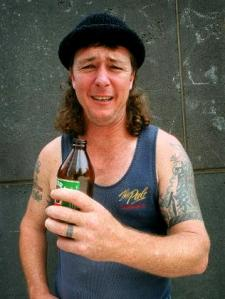 Strewth! Look at that bogan!