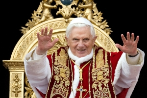"Although I understand the popes are all well versed in the use of ""the force""."