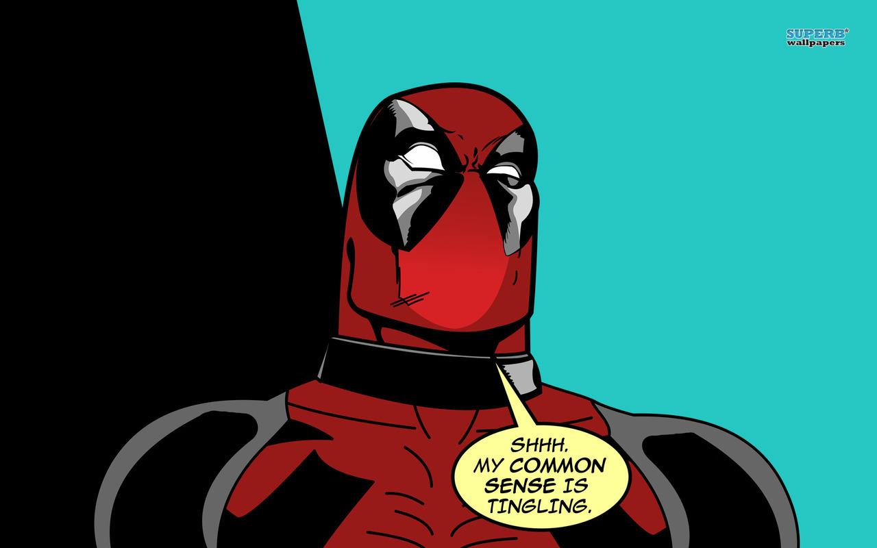 deadpool common sense meme - photo #3