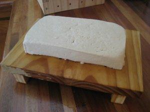 Sounds like tofu. Mmmmm.