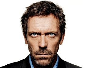 Hugh Laurie missed his calling. He would have been absolutely brilliant at bus-pastor combat.