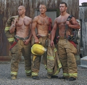 Damn, but that fire was hot! It singed all the hair off my chest!