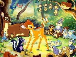 Run! Run, little woodland creatures! Before the bloodlust takes him over!